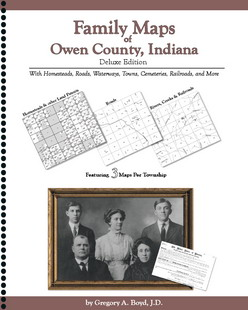 Family Maps of Tippecanoe County, Indiana, Deluxe Edition Gregory A. Boyd