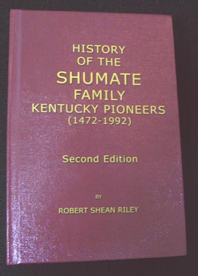 Shumate book, 2011 Reprint: note different cover artwork