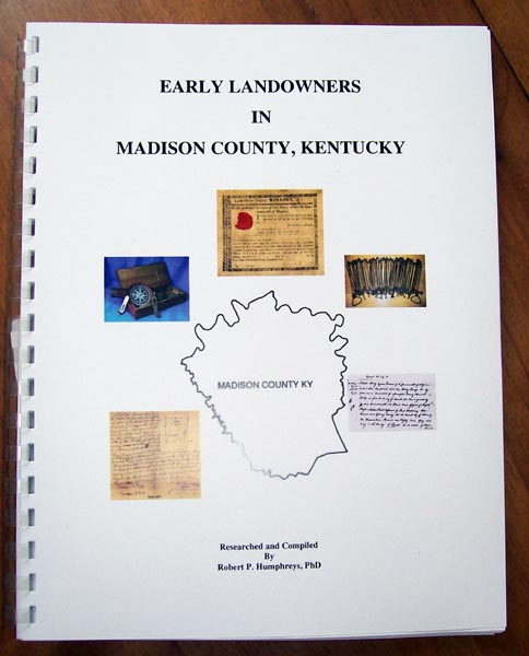 Early Landowners in Madison County, Kentucky
